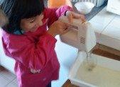 apprentissages des mesures de masses et de quantités grâce à la cuisine
